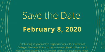 Alumni & friends: Save the Date!